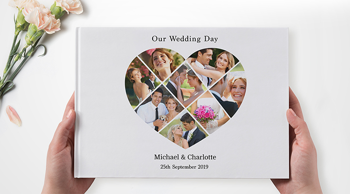 Personalised photobook for couples