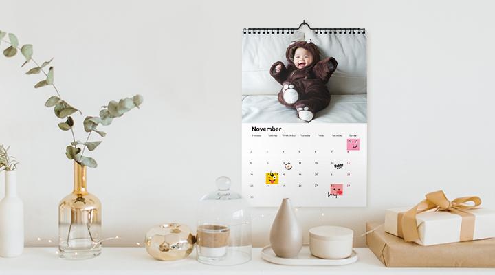 2021 Personalised Calendar