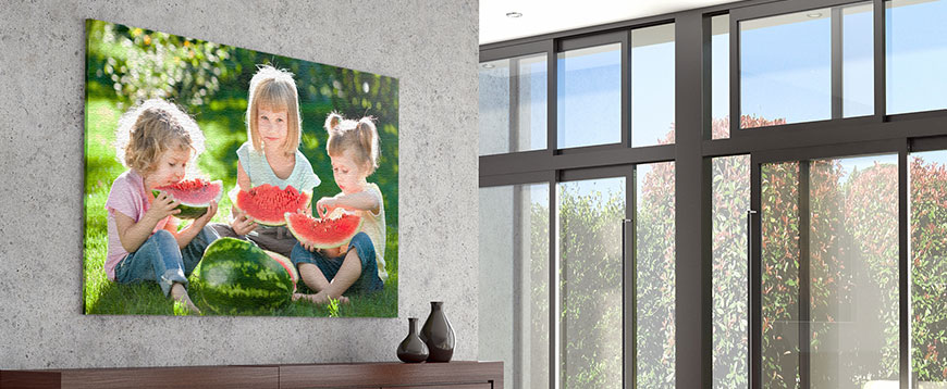 big is always better so go large when you order your printerpix photo canvas show off your best memories on a large canvas to put on your wall or to share